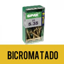 Tornillo Spax Bicromatado