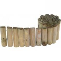 Borduras de madera o PVC