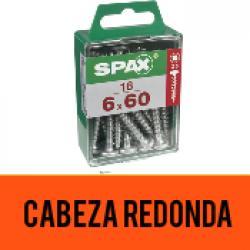 Tornillo Spax Cabeza Redonda