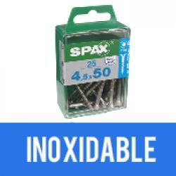 Tornillo Spax Inoxidable