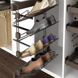 Organización interior de armarios y vestidores Emuca