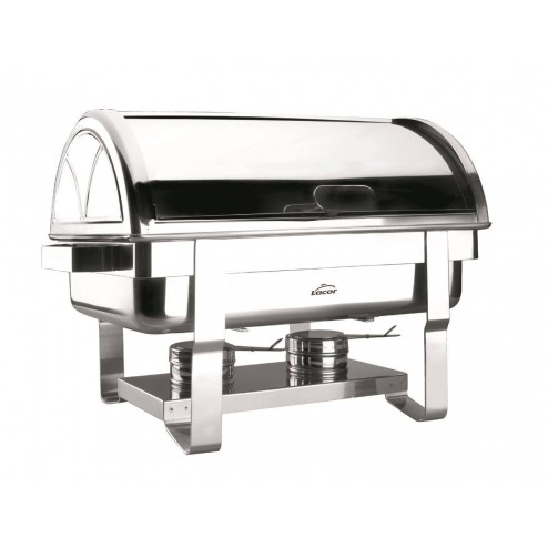 Chafing Dish Lacor Roll Top gn 1/1