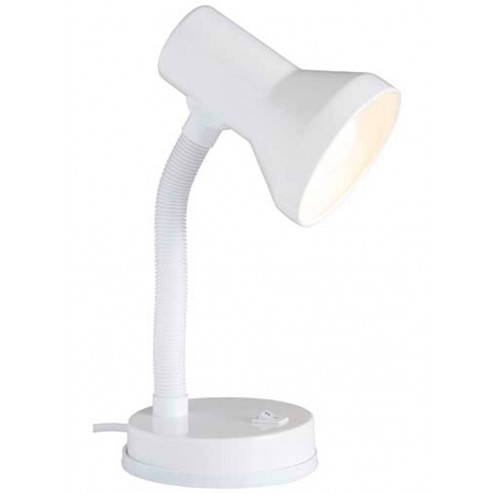 Flexo Iluminacion Sobremesa Blanco Junior Brilliant