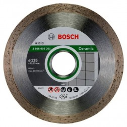 Disco Corte Porcelanico 115X22,2 Mm Diamante Fpe-5 Bosch
