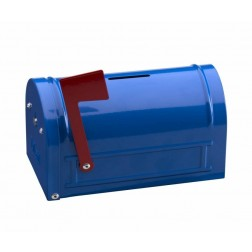 Hucha de seguridad Mail Box Arregui 152X83X93mm Azul