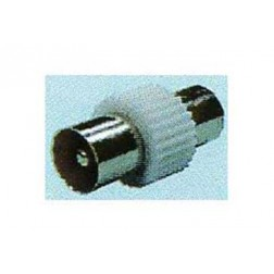 Adaptador Conector Tv 9,5 Mm Macho/Hembra