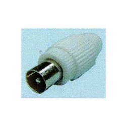 Conector Tv Diam 9,5 Mm Cofac Recto Macho