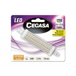 Bombilla cegasa led lineal 118 mm