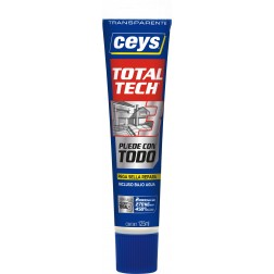 Adhesivo de polímero Total Tech transparente 125ml.