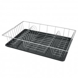 Escurreplatos Cocina Sobremesa Simple Con Bandeja 48X30Cm Colonia Metaltex