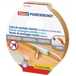 Cinta Adhesiva de Doble Cara Tesa Tape Slim 9mm