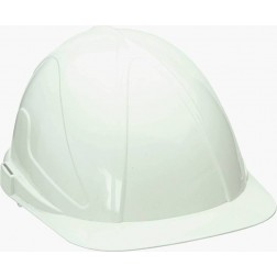 Casco de obra con regulación ABS blanco