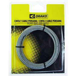 Cable para torno 2,5mm x 7m.