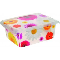 Caja Infantil Fashion Box Pink Flowers 10l