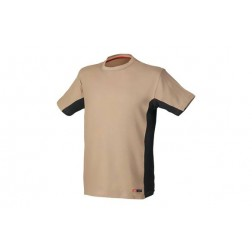 Camiseta Stretch Beige Talla XXL