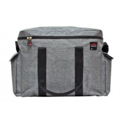 Nevera flexible Valira Stone gris 22l.