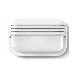 Aplique ecoled e-27 18w horizontal blanco