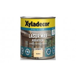 Lasur Extra Satinado Aquatech 2,5L Roble