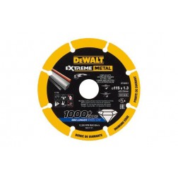 Disco Diamante Corte Metales Dewalt Diam. 115 X 1,3 Mm