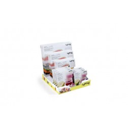 Tapa Extensible Silicona Expositor 17 Uds Surtidas