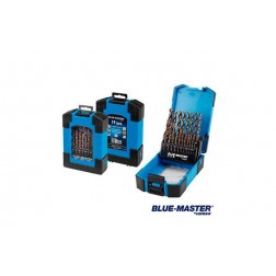 Broca Metal Profesional Cilindrica Hssco Din 338 J Blue-Master 1 A 10 Mm 19 Unidades