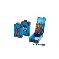 Broca Metal Profesional Cilindrica Hssco Din 338 J Blue-Master 1 A 13 Mm 25 Unidades