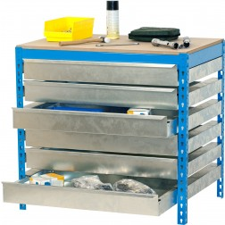 Kit Simonwork bt5 box6 900 azul/madera