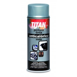 Pintura Anticalórica Titan Spray 400ml. negro