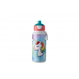 Botella Mepal Pop-up Campus Unicornio 400ml