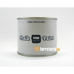 Cera Titan chalky paint incolora 250ml.