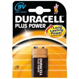 Pila Duracell Plus Power 9v