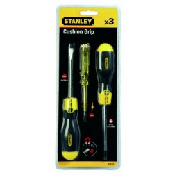Destornilladores Stanley Cushion Grip (3 uds.)