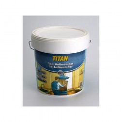 Pintura Antimanchas Titan 750ml Blanco Mate