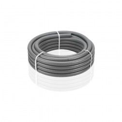 Tubo Flexible Evacuacion Pvc Gris Diam. 32 Mm 1,5 Mt