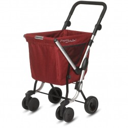 Carro de la compra Playmarket We Go Desmontable Rojo