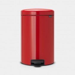 Cubo de basura Brabantia NewIcon Passion Red 20L