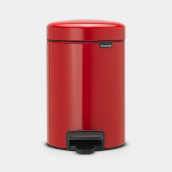 Cubo de basura Brabantia NewIcon Passion Red 3L
