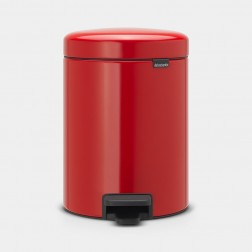 Cubo de basura Brabantia NewIcon Passion Red 5L