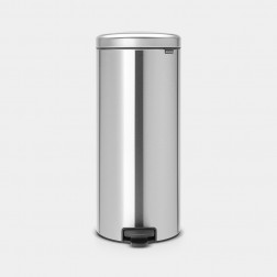 Cubo de Basura Brabantia NewIcon Matt Steel Figerprint Proof 30L