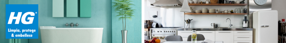 Limpiadores de cocinas y baños de HG